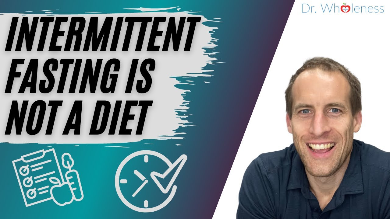 Intermittent Fasting is not a diet